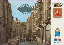 59 °° Lille - La Rue De La Monnaie - écrite 1983 - Lille