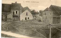 CPA - TOUTRY (21) - Aspect Du Bourg En 1909 - France