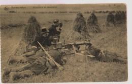 Armée Belge: Mitrailleurs En Observation  [avant La Guerre?] - Guerre 1914-18