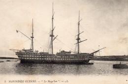 3561. CPA MARINE DE GUERRE. LE MAGELLAN - Matériel