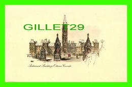 OTTAWA, ONTARIO - PARLIAMENT BUILDINGS - SWEDISH GIFTS LTD - - Ottawa