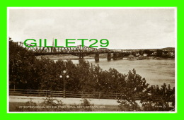 OTTAWA, ONTARIO - INTERPROVINCIAL BRIDGE, FROM ROYAL MINT - PUB. BY VALENTINE-BLACK CO LTD - - Ottawa