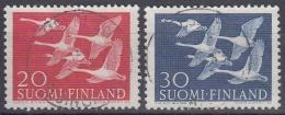 Finlandia 1956 Nº 445/46 Usado - Gebraucht
