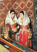 Sardaigne - Costumi Sardi - Ittiri - Carte Garami - Costumes