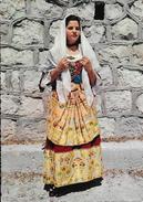 Sardaigne - Costumi Sardi - Costume Di Sinnai (Cagliari) - Carte Cecami - Costumes