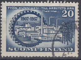 Finlandia 1957 Nº 461 Usado - Gebraucht