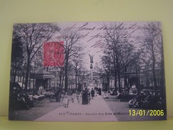 PARIS (3°ARRONDISSEMENT)  SQUARE DES ARTS ET METIERS. - Paris (03)
