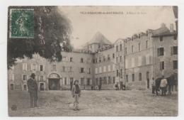 12 AVEYRON - VILLEFRANCHE DE ROUERGUE L'hôtel De Ville - Cholet