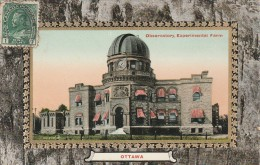 Ottawa  -  1911 - Observatory ,Experimental Farm  - Scan Recto-verso - Ottawa