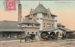 Ottawa  -  1911 -  Union Station    - Scan Recto-verso - Ottawa