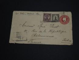 ETATS-UNIS - Entier Postal En Recommandé Pour La France En 1928 - A Voir - L 425 - 1921-40
