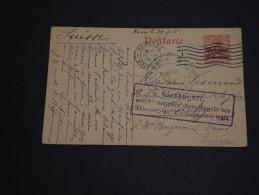 BELGIQUE - Entier Postal De Bruxelles Pour La Suisse En 1915 - A Voir - L 429 - German Occupation