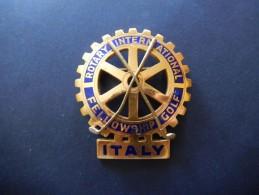 Spilla Rotary International Fellowship Golf - P342 - Golf