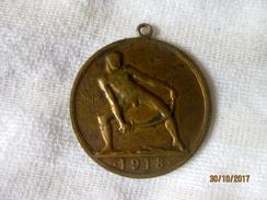 """Suisse Médaille De La Paix 1918 """"Fraternitas Inter Homines Futuros"""" - Non Classés"""
