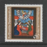 TIMBRE NEUF D´ALLEMAGNE FEDERALE - PEINTURE SOUS VERRE DE 1840 (NOËL 1981) N° Y&T 945 - Verres & Vitraux