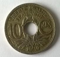 10 Centimes 1919 - Lindauer  - - D. 10 Centimes