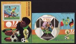 Equatorial Guinea, 1973, FIFA World Cup, Germany (III), 2 S/s Blocks - Coppa Del Mondo