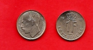 LUXEMBURG, 1988-95, Circulated Coin, 1 Franc, Nickel Steel, Km63, C1665 - Luxembourg
