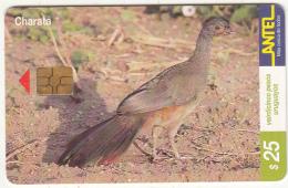 URUGUAY - Bird, Charata(115a), 03/00, Used - Uruguay