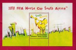 SOUTH AFRICA, 2009, Mint Hinged Block (miniature Sheet) , Fifa World Cup SA,  Sa 1956 #9025 - South Africa (1961-...)