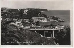 CPA - PHOTO - MONTE CARLO - VUE SUR LE BEACH - 1456 - LA CIGOGNE - Monte-Carlo