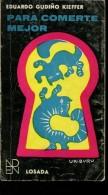 PARA COMERTE  MEJOR EDUARDO GUDIÑO KIEFFER LOSADA 203  PAG ZTU. - Books, Magazines, Comics
