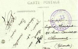 Saint Etienne - Hopital Auxiliaire N° 6. Violet - Guerre De 1914-18