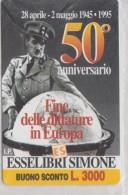 ITALY 1995 CHARLIE CHAPLIN THE GREAT DICTATOR MINT - Cine