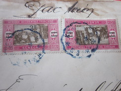 Marcophilie Europe France (ex-colonie )Sénégal (1887-1944) A.O.F - Lettre & Document Banque Française De L'Afrique - Lettres & Documents