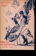 HACIA EL ABISMO AUTOGRAFIADO  ALFREDO BAUER EDICIONES LIHUEL 207 PAG ZTU. - Boeken, Tijdschriften, Stripverhalen
