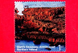 INGHILTERRA - GB - GRAN BRETAGNA - 2004 - UNESCO - Irlanda Del Nord - Giant Causeway, Antrim Coast - 1st (28) P - 1952-.... (Elizabeth II)