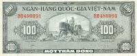 Vietnam, South - Vietnam, Pick 8 B, 100 Dong, 1955 ! - Vietnam