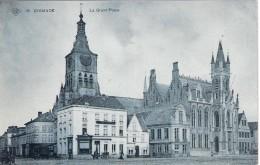 SBP KAART NIEUW La Grand Place En Hoek Kiekenstraat Zeldzaam - Diksmuide