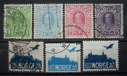 Norwegen Lot Haakon - Aker Brugge 1907 - 1927  Gestempelt      (H129) - Gebraucht