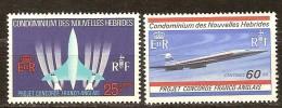 Nouvelles Hebrides New Hebrides  Yvertn° 276-77 *** MNH Cote 11,50 Euro - Légende Française