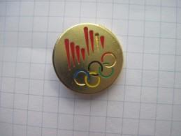 Olympics Logo Rings Olympic Rings   / Soft Enamel - Olympic Games