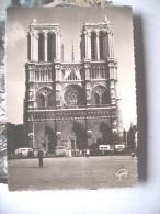 Frankrijk France Frankreich Paris Facade Notre Dame Autobus - Notre-Dame De Paris
