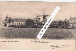 Editeur Van Cuyck Les Paturages Verstuurd 190 7 Perfekte Staat - Diksmuide