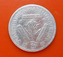 South Africa 3 Pence 1942 Silver - Afrique Du Sud