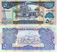Somaliland 500 Shillings 2011 Pick 6-h UNC - Somalia