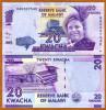 Malawi 20 Kwacha 2012 Pick 57 UNC - Malawi