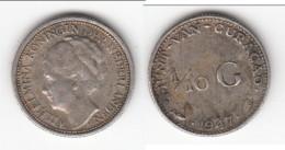 **** CURACAO - PAYS-BAS - NETHERLANDS - 1/10 GULDEN 1947 WILHELMINA - ARGENT - SILVER **** EN ACHAT IMMEDIAT - Curaçao