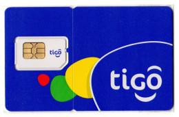 SALVADOR CARTE GSM TIGO Verso Numerotée - Salvador