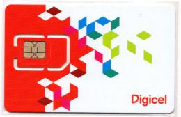 SALVADOR CARTE GSM DIGICEL Verso Numeroté - El Salvador