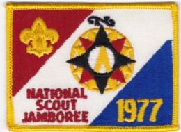 1977 Boy Scout US National Jamboree Uniform Cloth Patch - Scouting