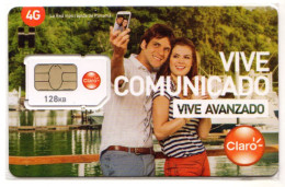 PANAMA CARTE GSM CLARO Verso Numeroté SELFIE