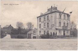 Gouvy Hôtel De La Gare W. Noël - Hauregard Feldpost LD74 - Gouvy
