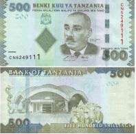 Tanzania 500 Shilingi 2010 Pick 40 UNC - Tanzania