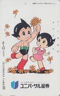 Télécarte Japon / 330-17837 - MANGA - TEZUKA - ASTRO ATOM BOY - ANIME Japan Phonecard - BD COMICS TK NTV - 6642 - Kino