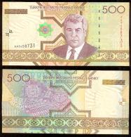 Turkmenistán 500 Manat 2005 Pick 19 UNC - Turkmenistán